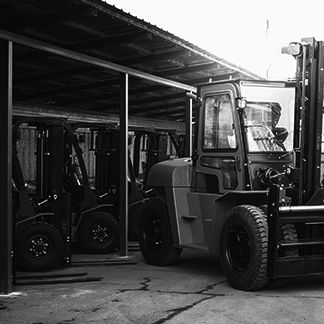 E-forklifts management