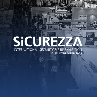 We are at Sicurezza 2019!