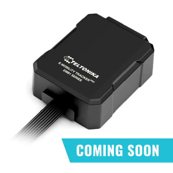 Device for E-Bikes with integrated ECU data reading, GSM/GNSS connectivity.